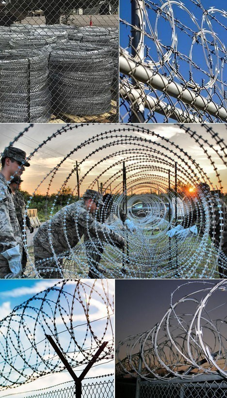 Fencing Wire Concertina Coil Concertina Wire Manufacturer in Delhi